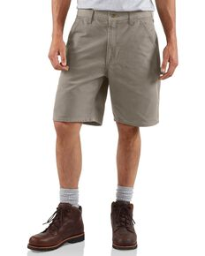 Carhartt Washed Duck Work Shorts, Desert, hi-res