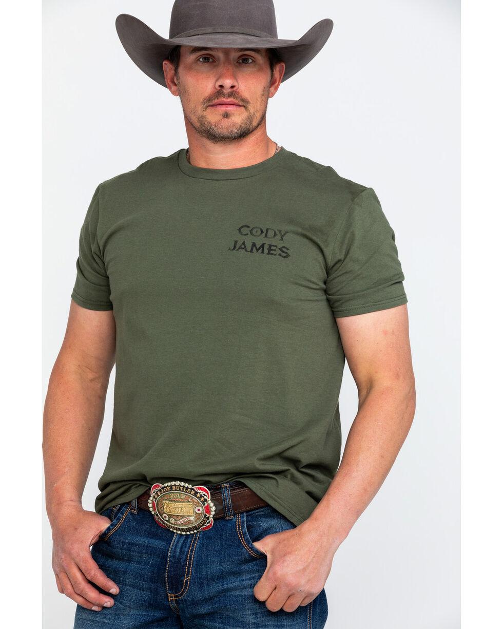 Buckwear Men's Ride Graphic T-Shirt , Green, hi-res