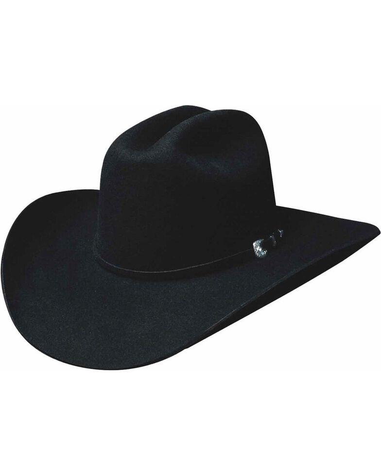 Bullhide Men's Ruidoso 6 X Wool Hat, Black, hi-res