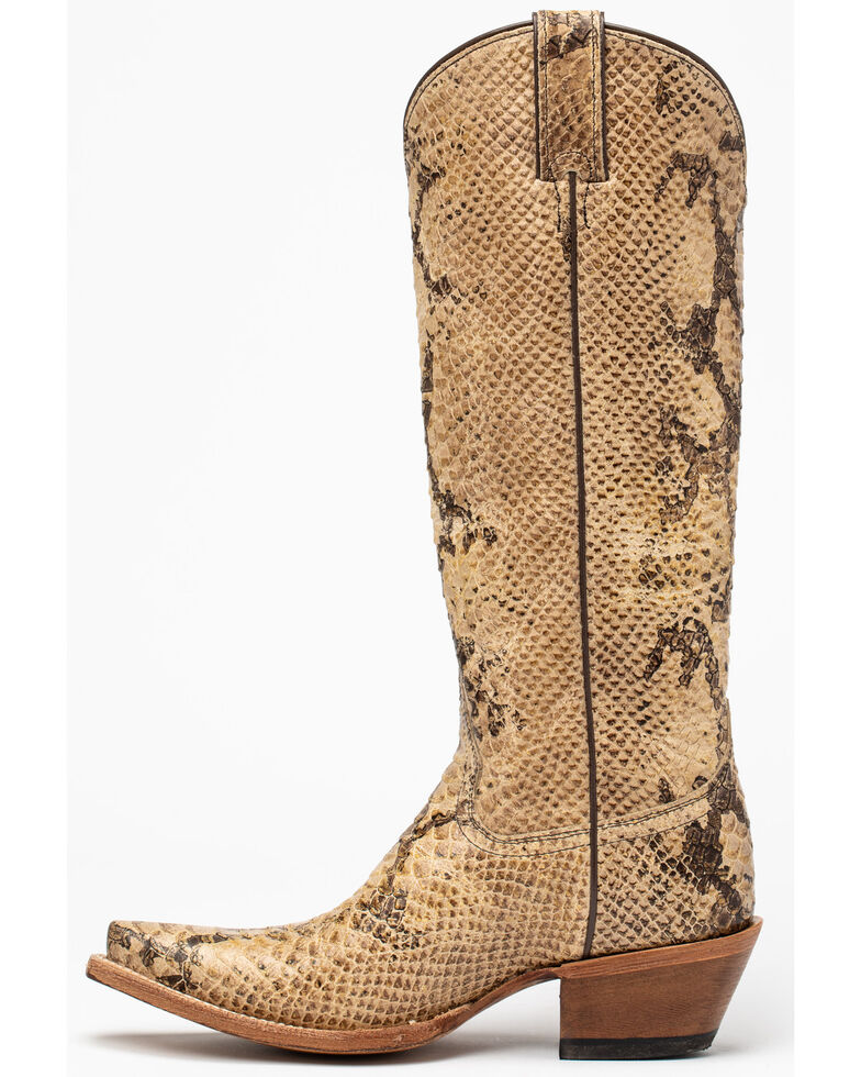 Idyllwind Women's Temptation Western Boots - Snip Toe, Natural, hi-res