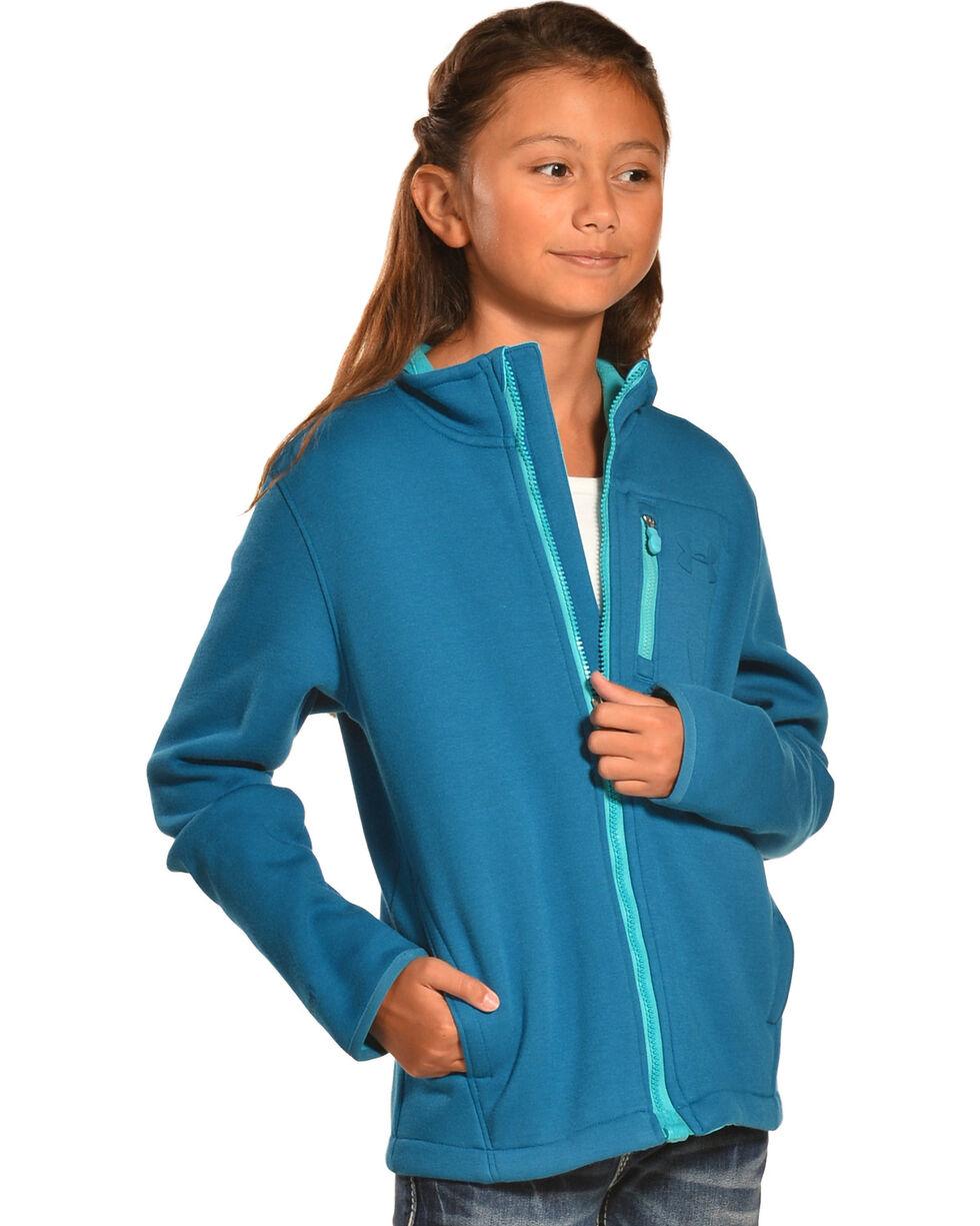 Under Armour Kids' Grantie Jacket, Blue, hi-res
