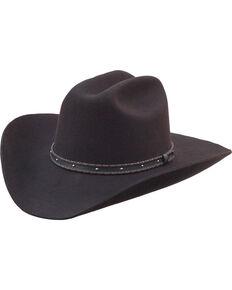 Silverado Men's Flynn Low Cattleman Crown Western Hat , Chocolate, hi-res