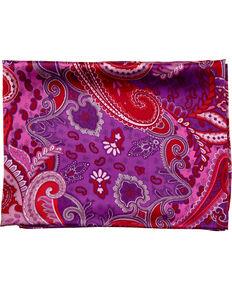Schaefer Outfitter Paisley Wild Rag , Purple, hi-res