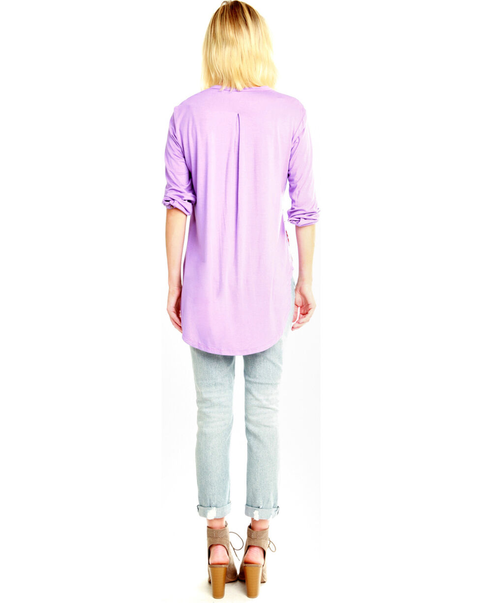 Aratta Women's Violet All You See Top , Violet, hi-res