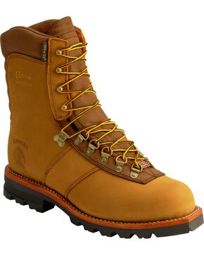 Chippewa Men's Waterproof Arctic Work Boots, Golden Tan, hi-res
