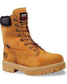 "Timberland Pro Men's 8"" Insulated Waterproof Work Boots, Tan, hi-res"