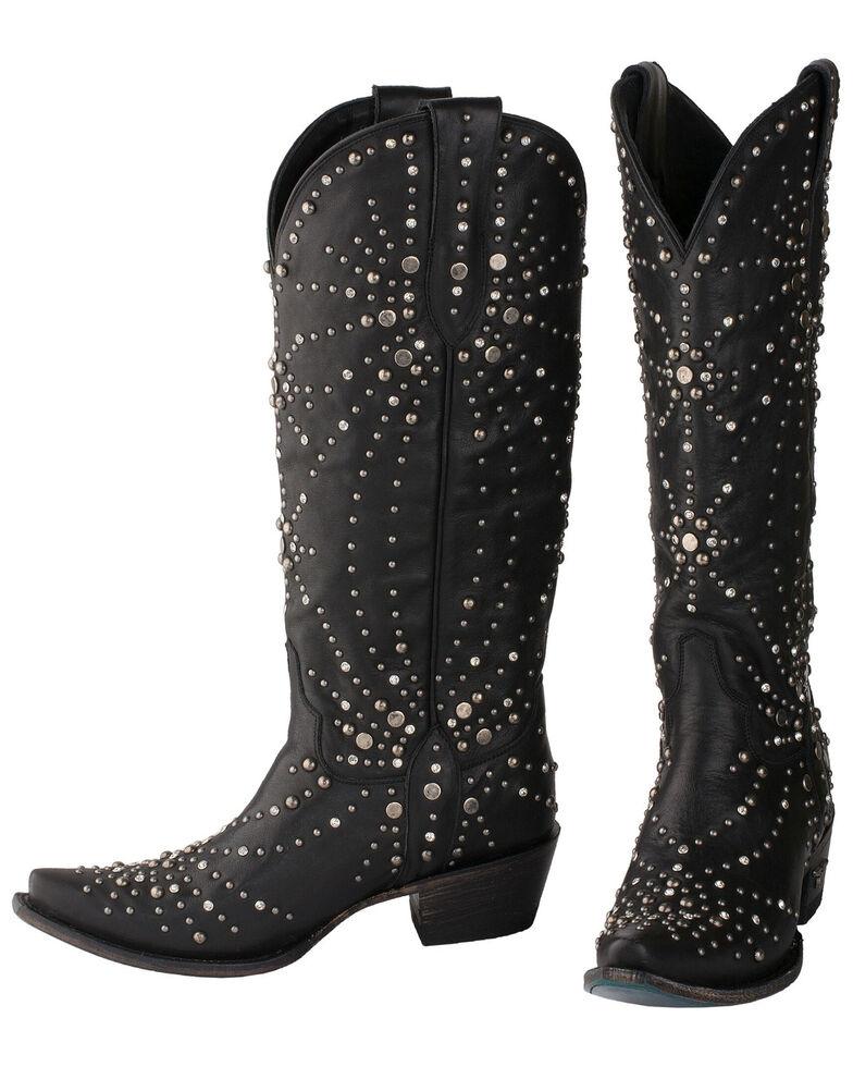 Lane Women's Sparks Fly Western Boots - Snip Toe, Black, hi-res