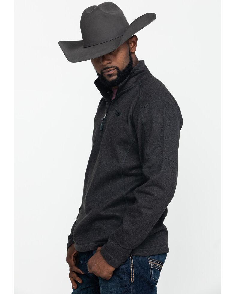 Ariat Men's Mustang 1/4 Zip Pullover Sweatshirt , , hi-res