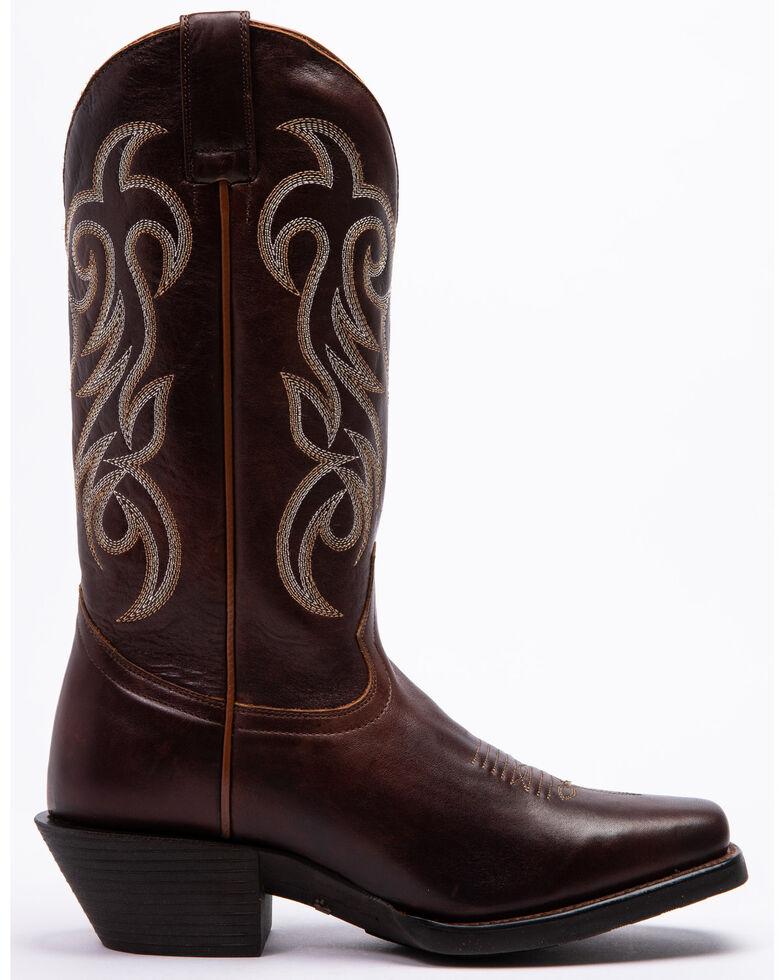 Shyanne Women's Xero Gravity Surrender Western Boots - Snip Toe, Brown, hi-res