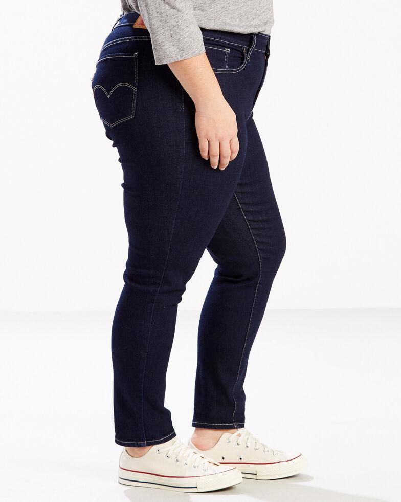 Levi's Women's 711 Scenic Drive Skinny Jeans - Plus, Indigo, hi-res
