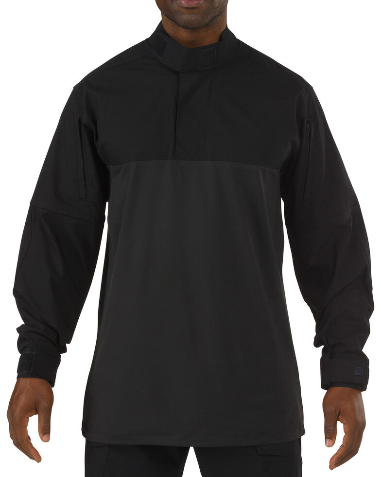 5.11 Tactical Stryke TDU Rapid Long Sleeve Shirt - 3XL, Black, hi-res