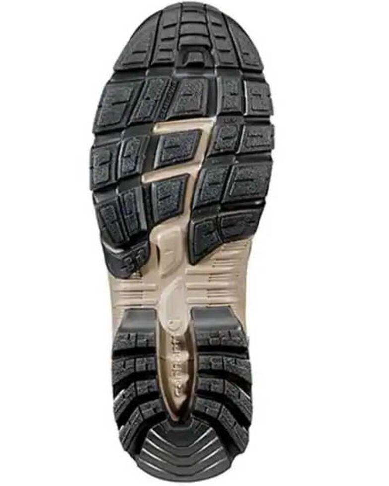 Carhartt Men's Lightweight Hiker Work Boots - Soft Toe, Brown, hi-res