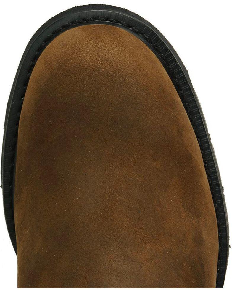 Wolverine Men's Plain Toe Slip Resistant Wellington Boots, Brown, hi-res