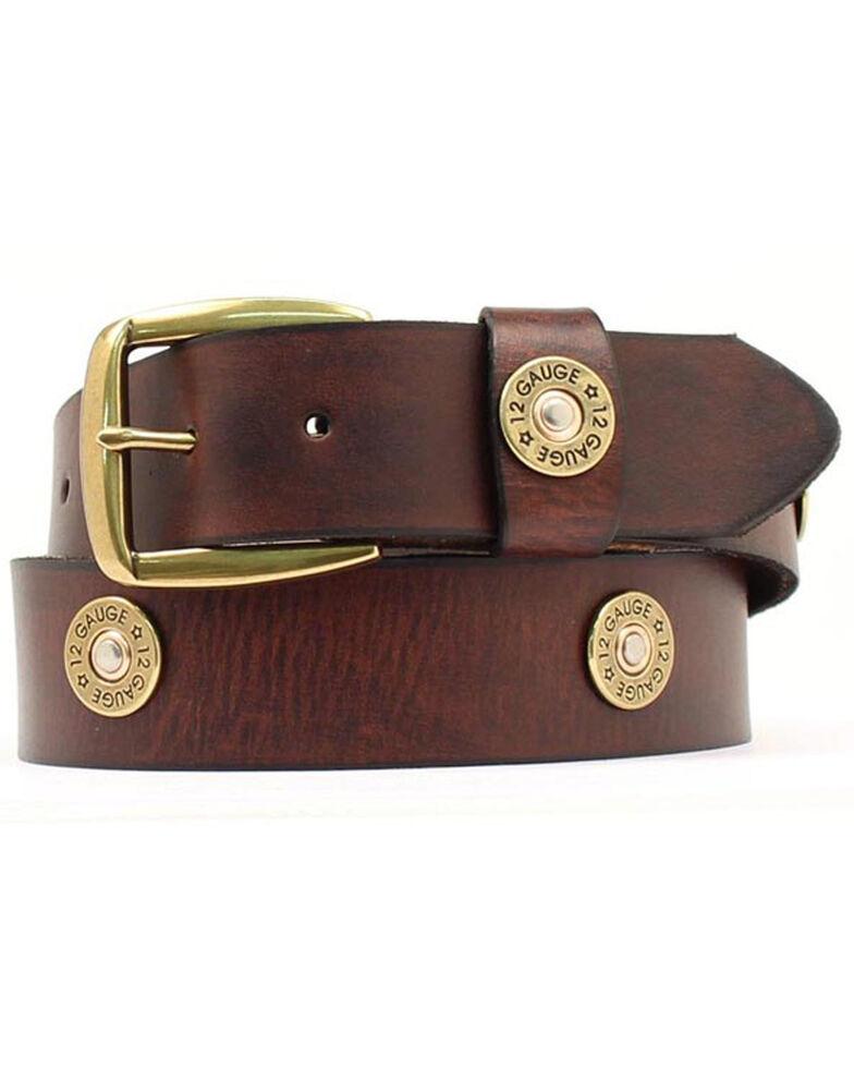 Nocona Brown Western Bullet Belt - Large, , hi-res