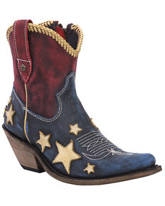 Liberty Black Women's Azul Americana Fashion Booties - Snip Toe, Multi, hi-res