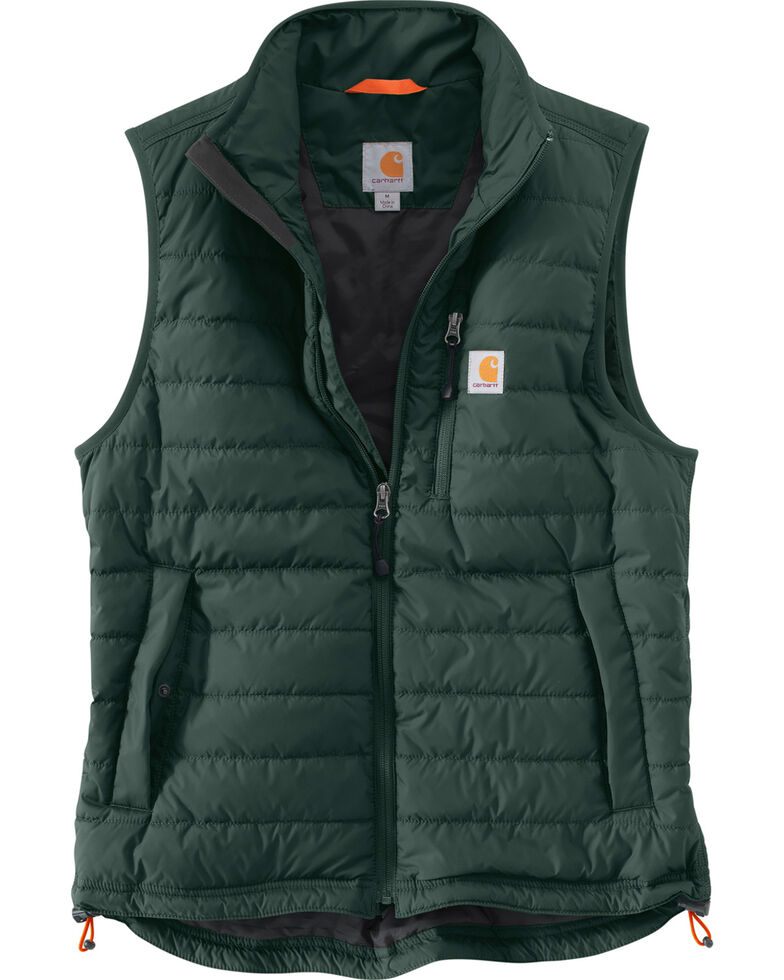 Carhartt Men's Gilliam Work Vest, Green, hi-res