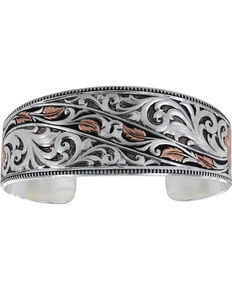 Montana Silversmiths Winding Leaves in Fall Bracelet, Multi, hi-res