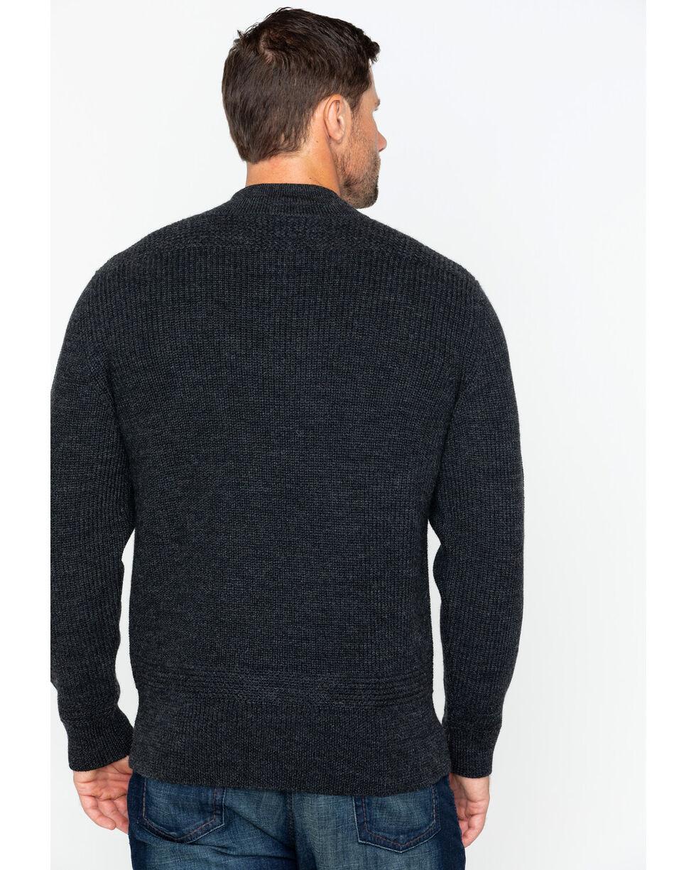 Filson Men's 5GG Henley Sweater, Charcoal, hi-res