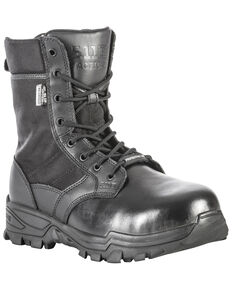 5.11 Tactical Men's Speed 3.0 Shield Boots - Round Toe, Black, hi-res