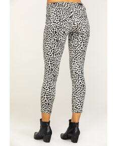 Miss Me Women's Grey Leopard Jeans, Black, hi-res