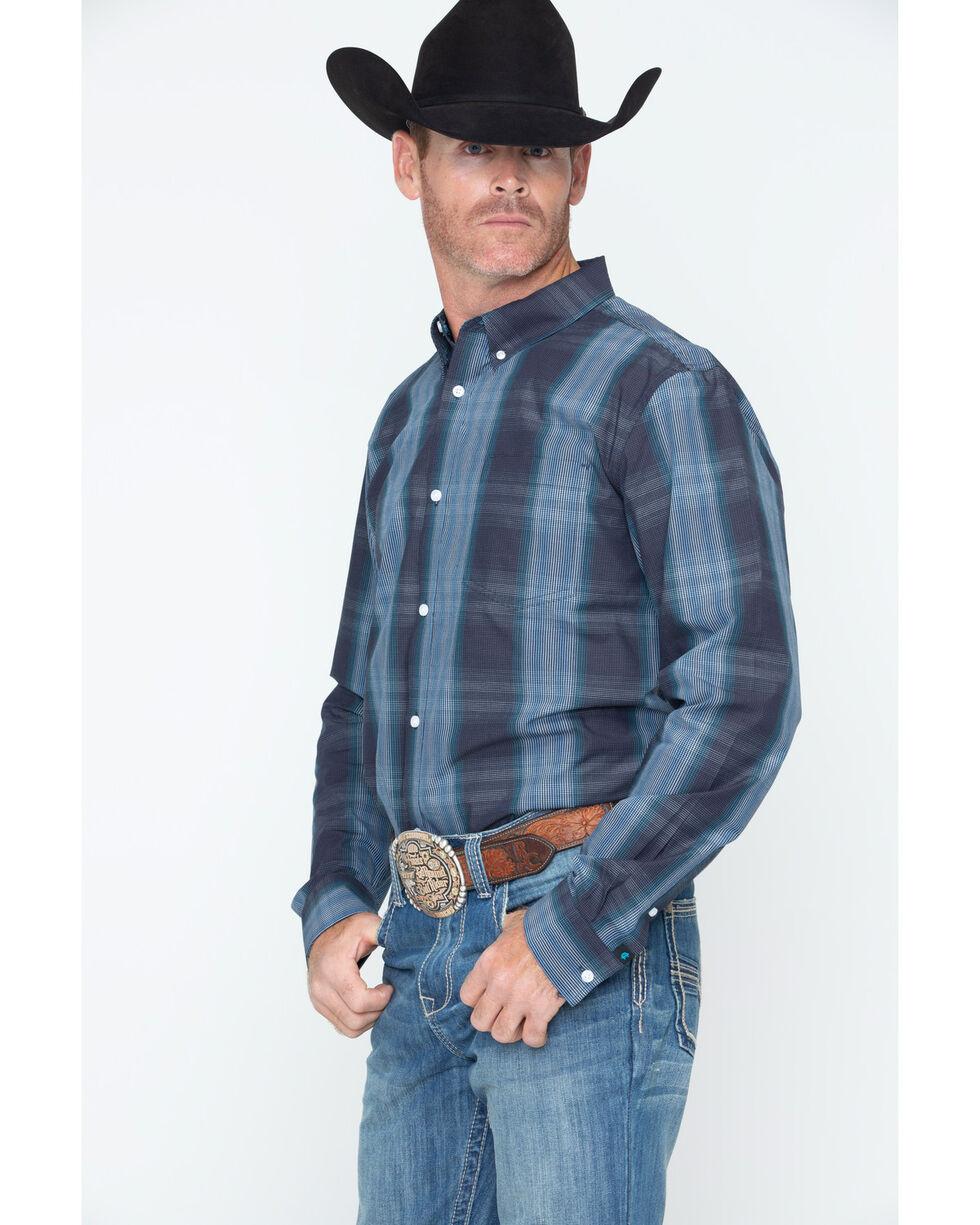 Cody James Men's Rainier Plaid Shirt - Big & Tall , Blue, hi-res