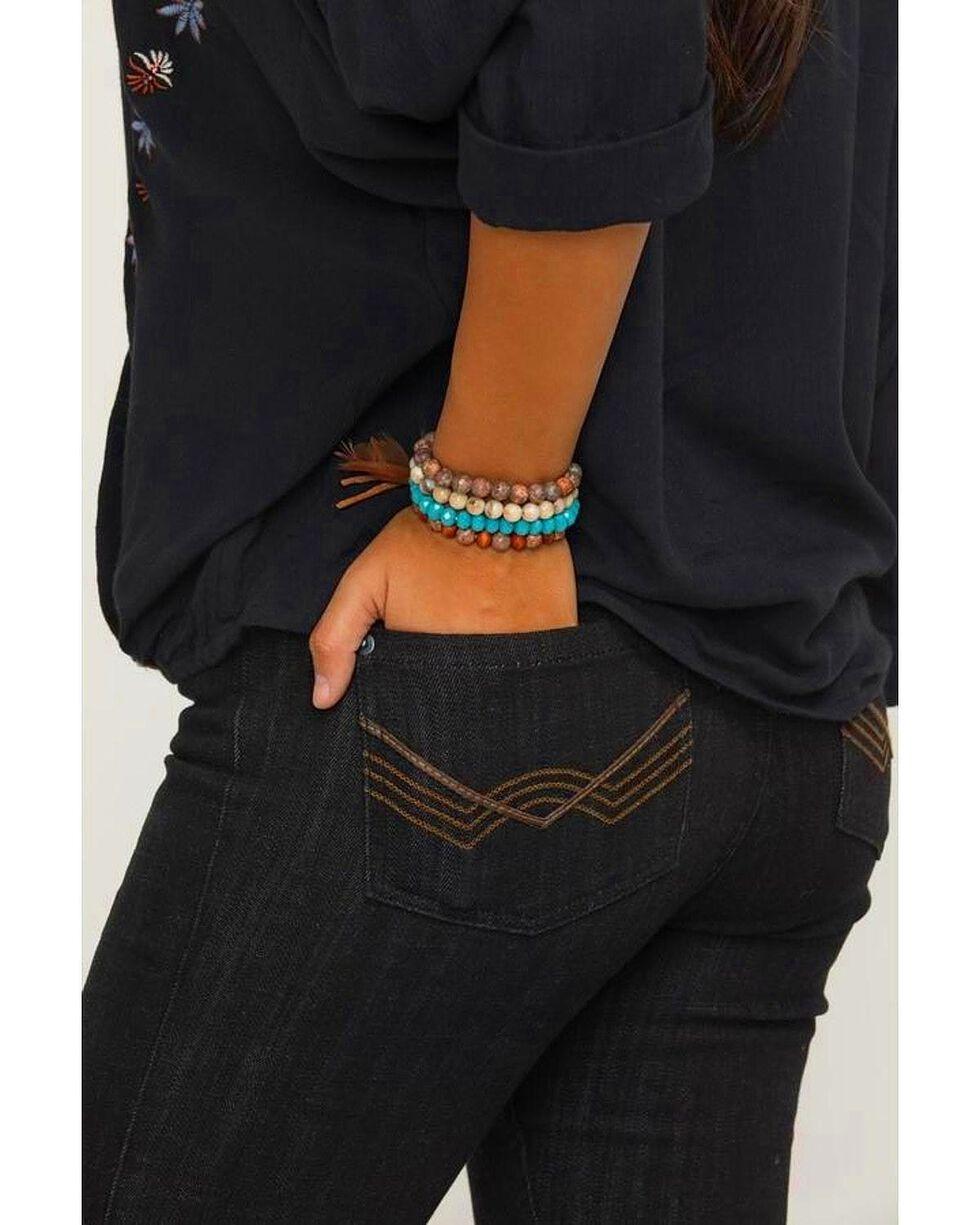 Idyllwind Women's Hippie 4 Bracelet Stack, Brown, hi-res