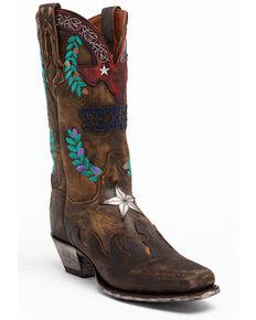 Dan Post Women's Tan Western Boots - Square Toe, Tan, hi-res
