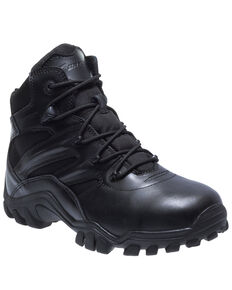 Bates Men's Delta-6 Work Boots - Soft Toe, Black, hi-res