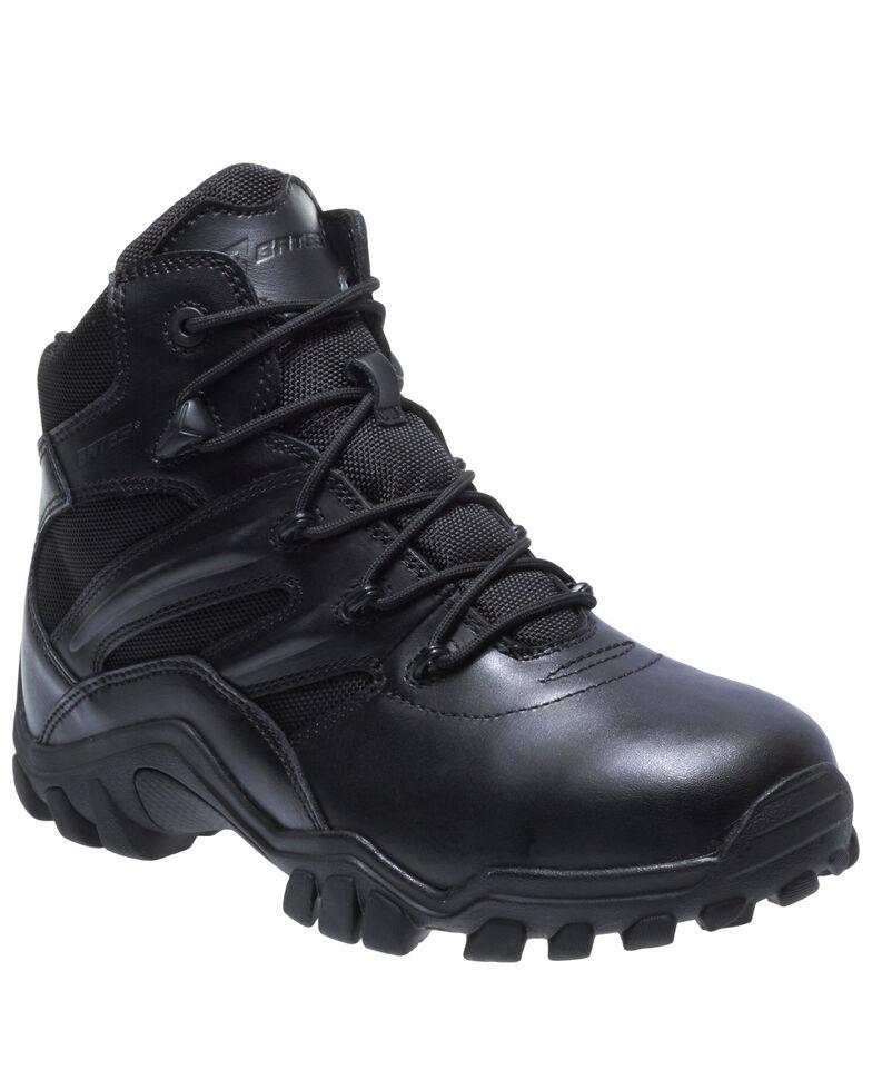 Bates Men's Delta-6 Work Boots - Soft Toe, Black, hi-res