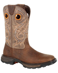 Durango Men's Maverick XP Western Work Boots - Composite Toe, Brown, hi-res