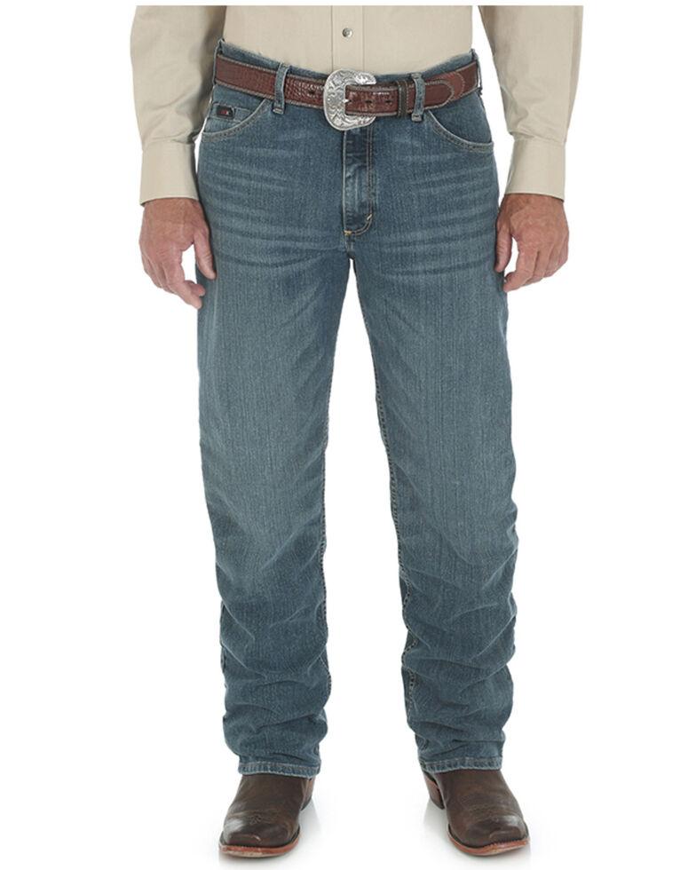 Wrangler 20X Men's Barrel Advanced Comfort Competition Slim Relaxed Jeans - Big & Tall , Indigo, hi-res