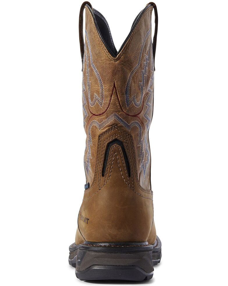 Ariat Men's Workhog XT Western Work Boots - Square Toe, Brown, hi-res