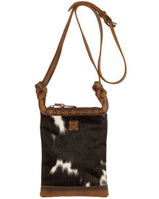 STS Ranchwear Women's Classic Cowhide Crossbody Bag, No Color, hi-res