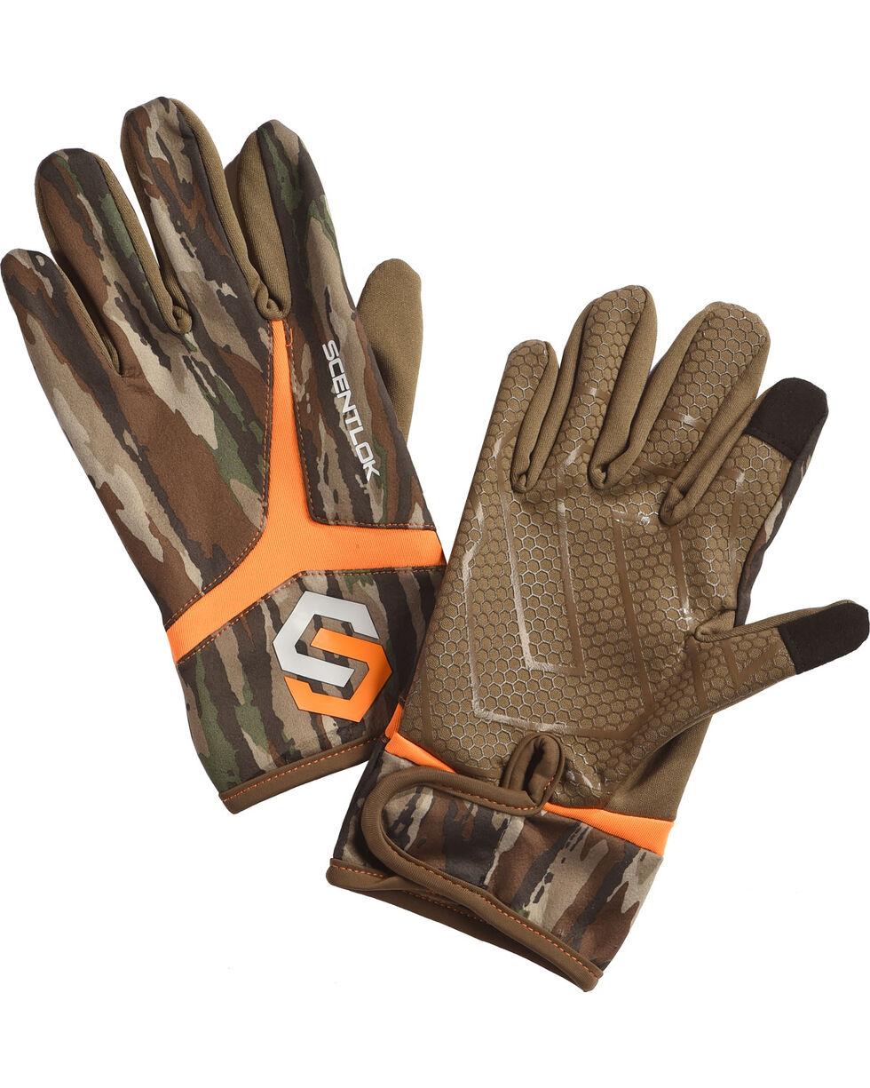 Scentlok Technologies Men's Camo Full Season Release Gloves , Camouflage, hi-res