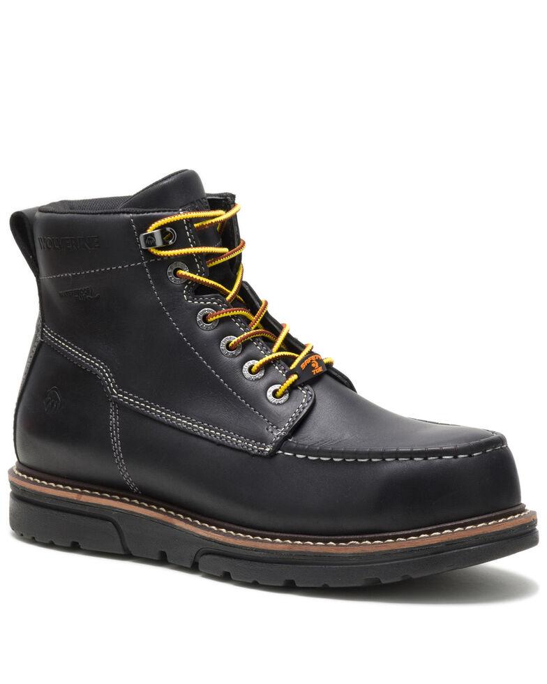 Wolverine Men's I-90 Durashocks Work Boots - Composite Toe, Black, hi-res