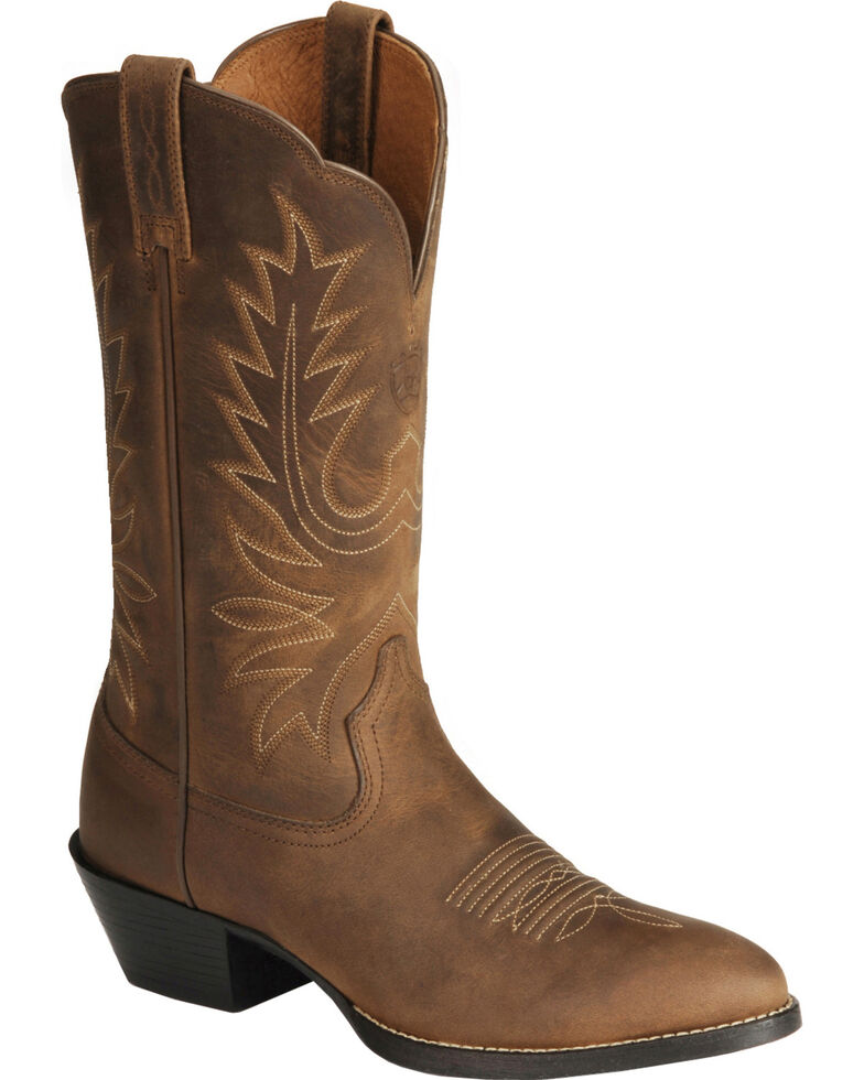 Ariat Women's Heritage Western Boots - Medium Toe, Distressed, hi-res