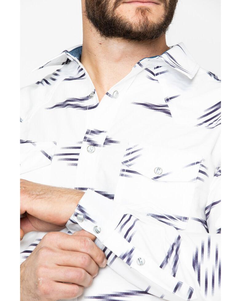 Cody James Men's Calzona Aztec Print Long Sleeve Western Shirt, White, hi-res