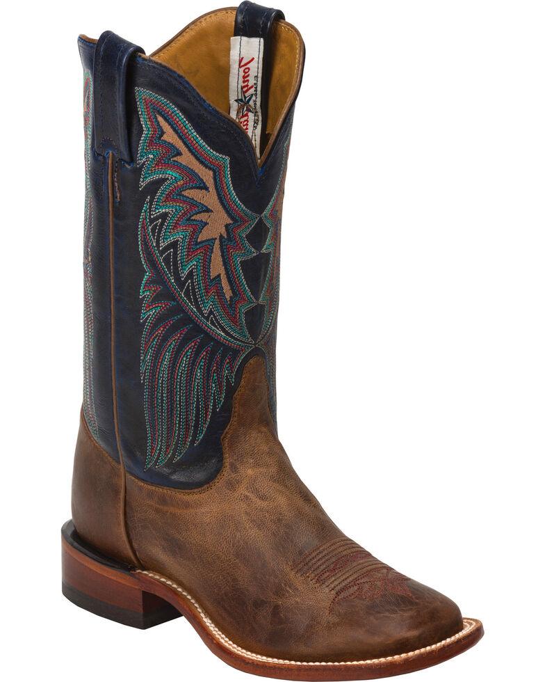 Tony Lama Women's San Saba Saigets Western Boots, Brown, hi-res