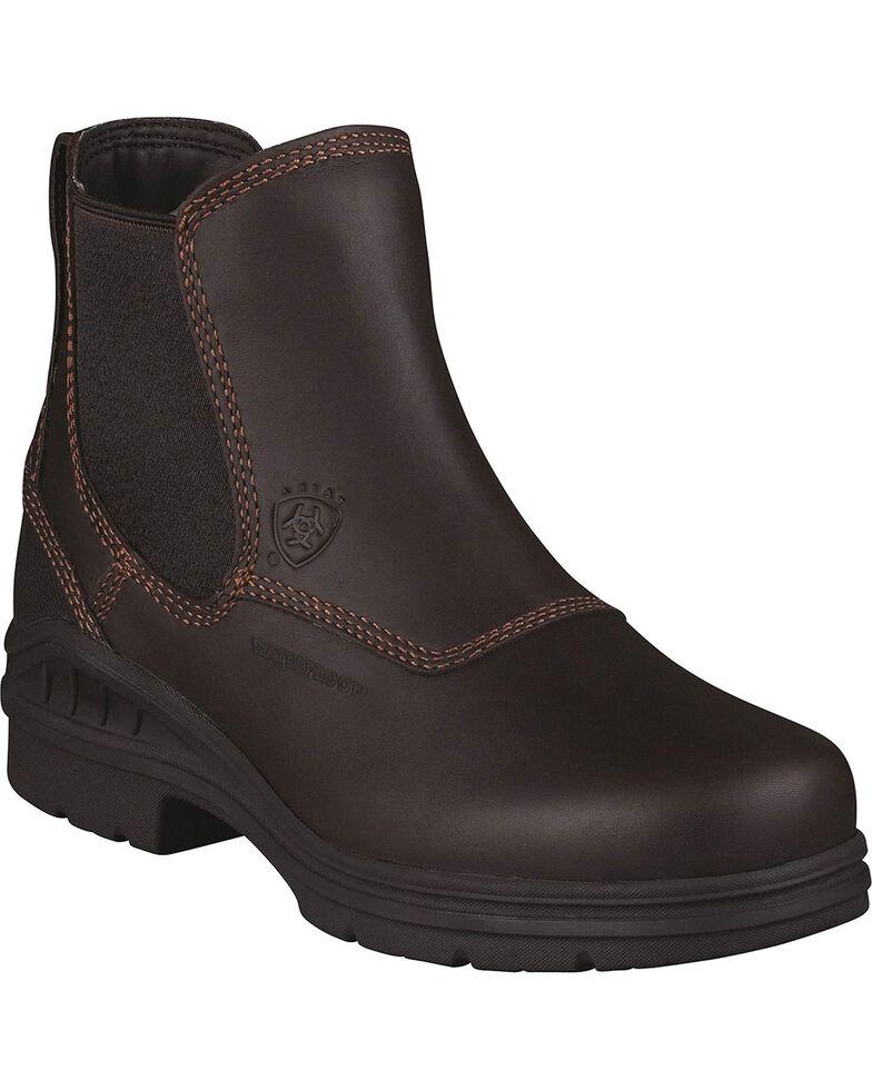 Ariat Women's Barnyard Farm Boots, Dark Brown, hi-res