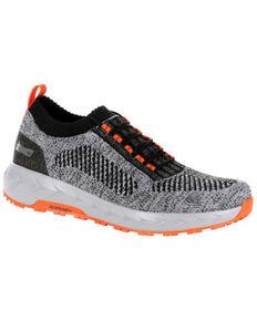 Rocky Men's WorkKnit LX Athletic Work Shoes - Soft Toe, Black, hi-res