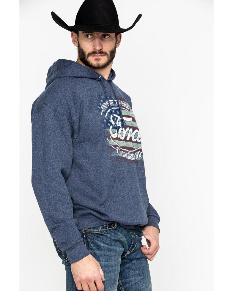 Buck Wear Men's FMC Own One Graphic Hooded Sweatshirt , Navy, hi-res