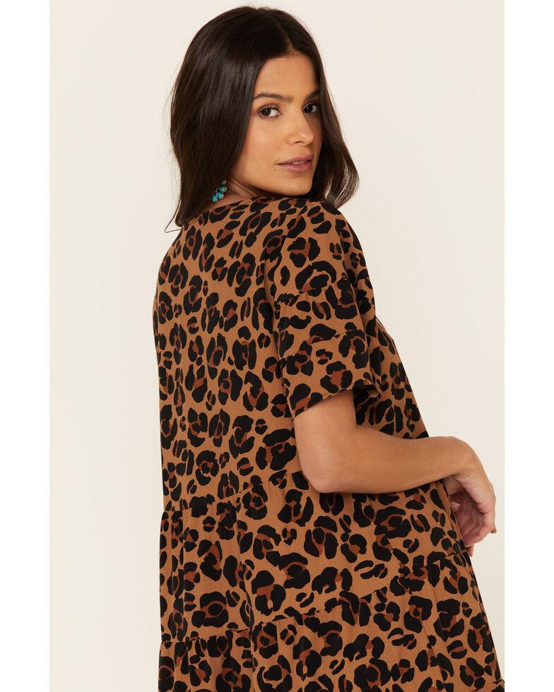 Show Me Your Mumu Women's Cheetah Valley Mini Dress, Multi, hi-res
