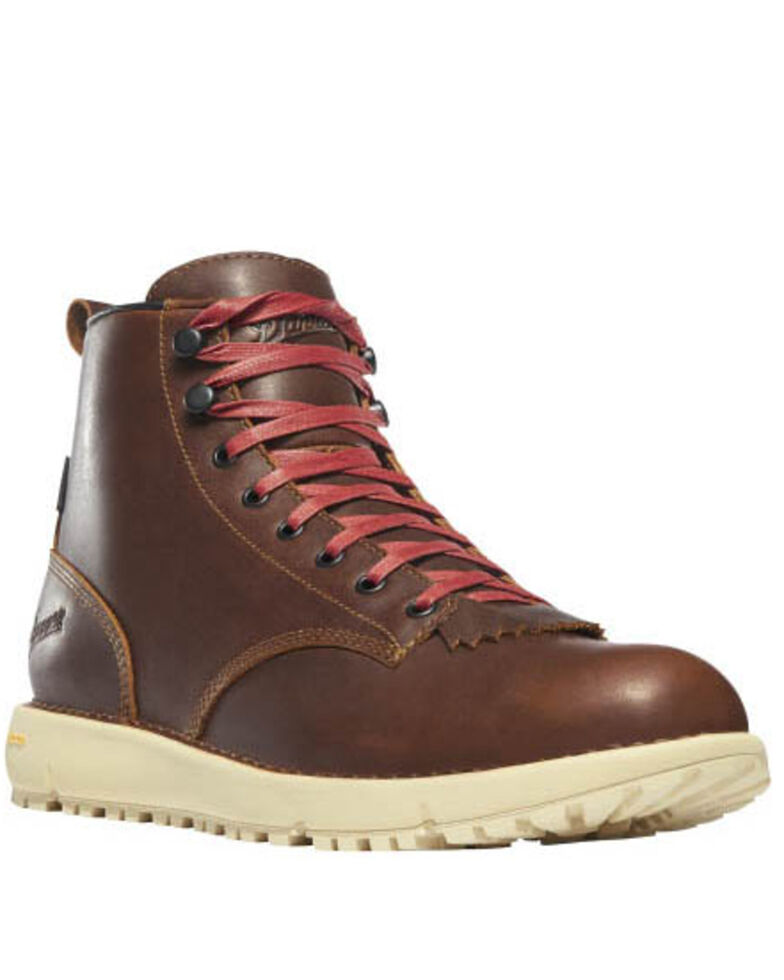 Danner Men's Monks Logger Boots - Soft Toe, Brown, hi-res