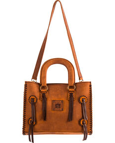 Sts Ranchwear Small Chaps Satchel Brown Hi Res