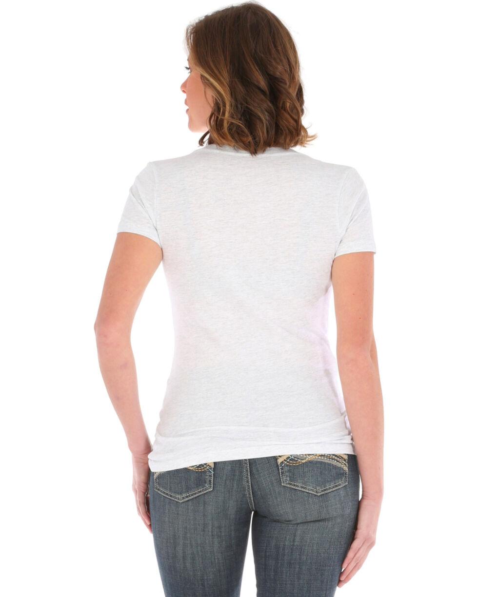 Wrangler Women's Tough Enough To Wear Pink Short Sleeve Graphic tee, White, hi-res