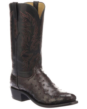 Lucchese Men's Elgin Exotic Western Boots - Round Toe, , hi-res