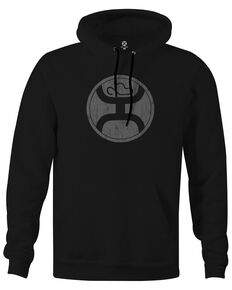 HOOey Boys' Black Logo Graphic Hooded Sweatshirt, Black, hi-res