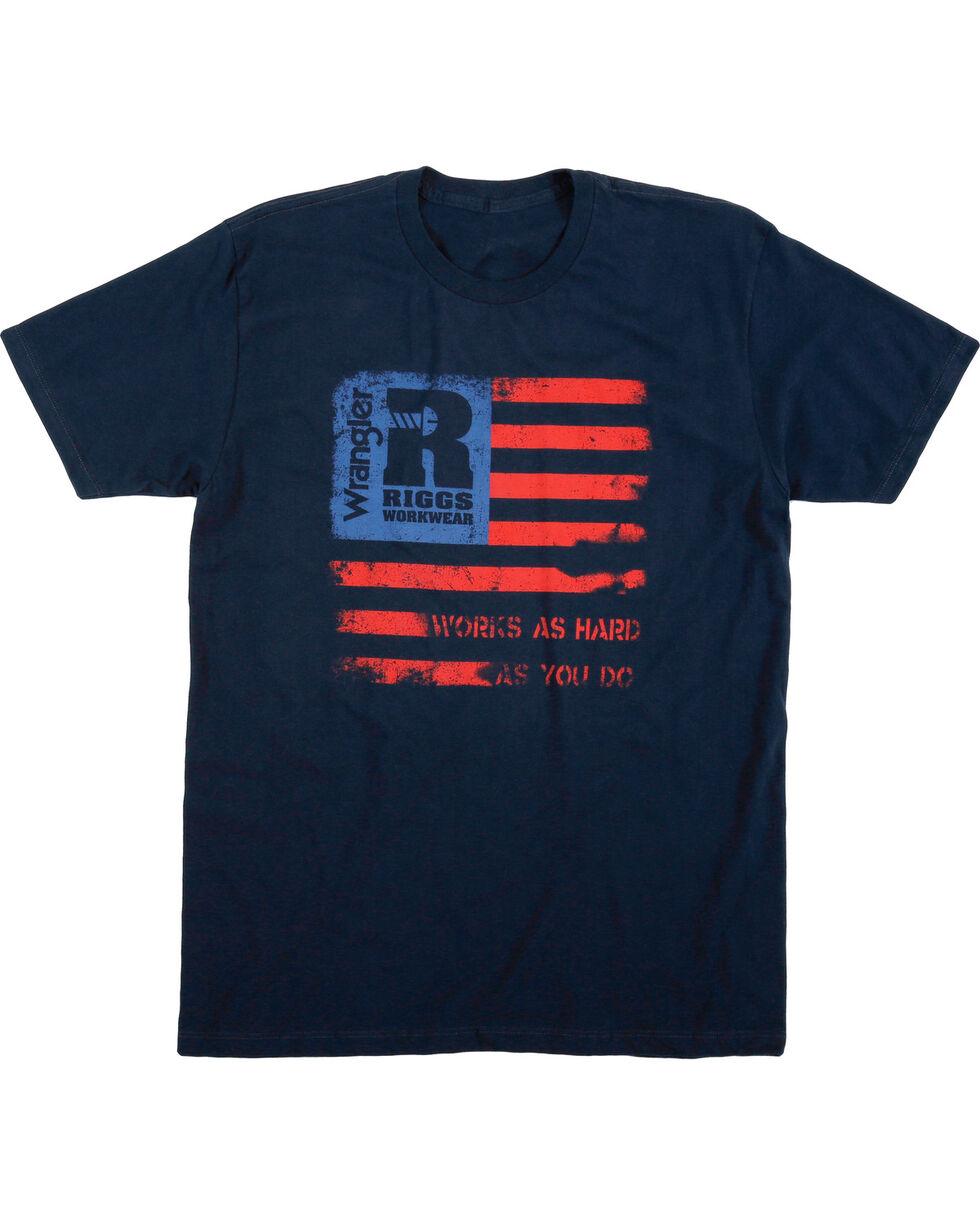 Wrangler Men's Riggs Workwear Short Sleeve Graphic Tee, Navy, hi-res