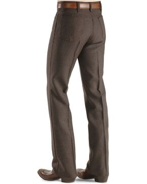 Wrangler Men's Wrancher Dress Jeans, Hthr Brown, hi-res