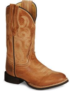 Smoky Mountain Kid's Showdown Cowboy Boots, Bomber, hi-res